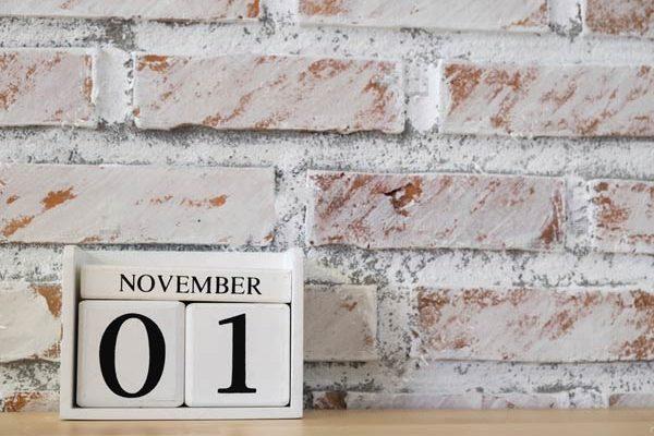 личное планирование - ноябрь