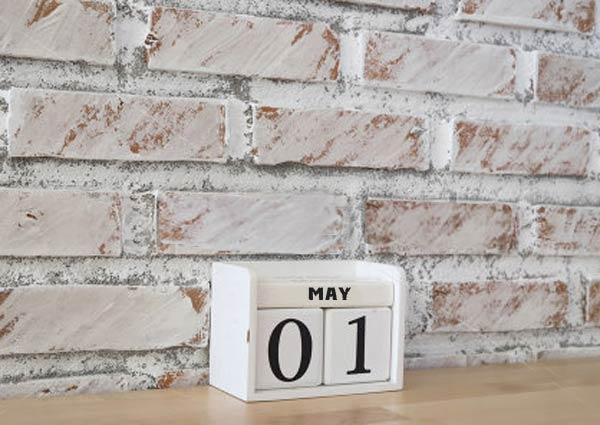 личное планирование, май